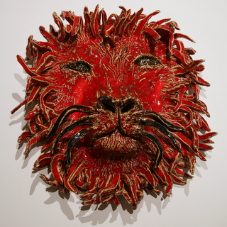 Angelika Hinton ceramic lion