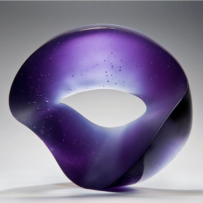 Heike Brachlow glass sculpture